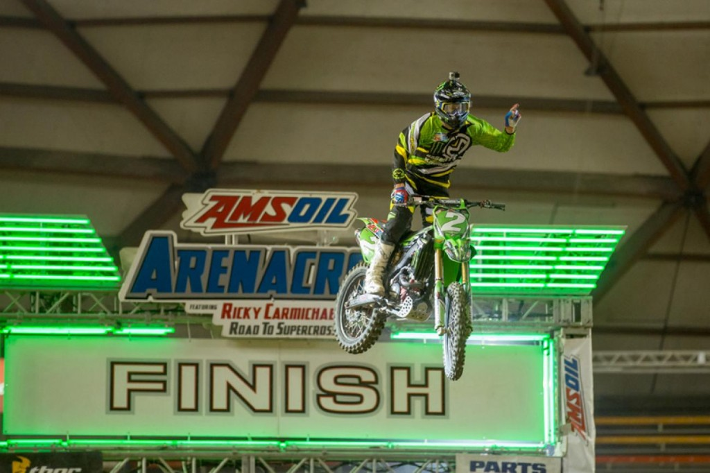 Jacob Hayes took the overall win at Tacoma