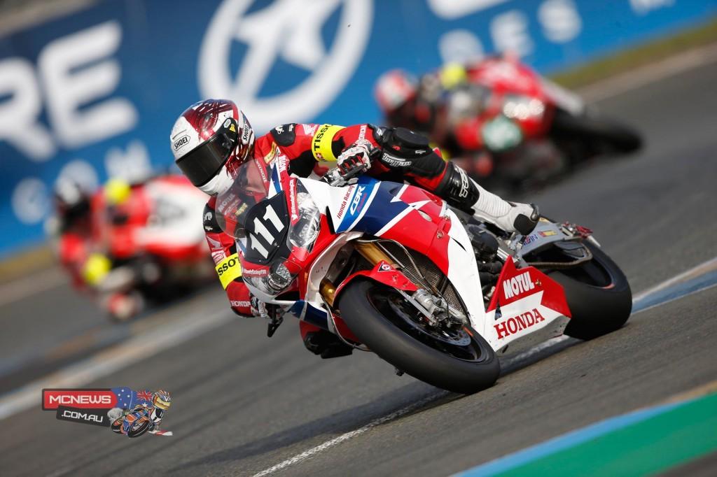 Le Mans 24 Hour Qualifying - Honda Racing Fireblade