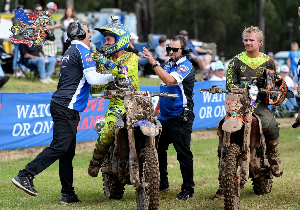 Kade Mosig / Yamaha / 1st overall MX Nationals / Round 2 / MX1 Australian Motocross Championships Appin NSW Sunday 12 April 2015