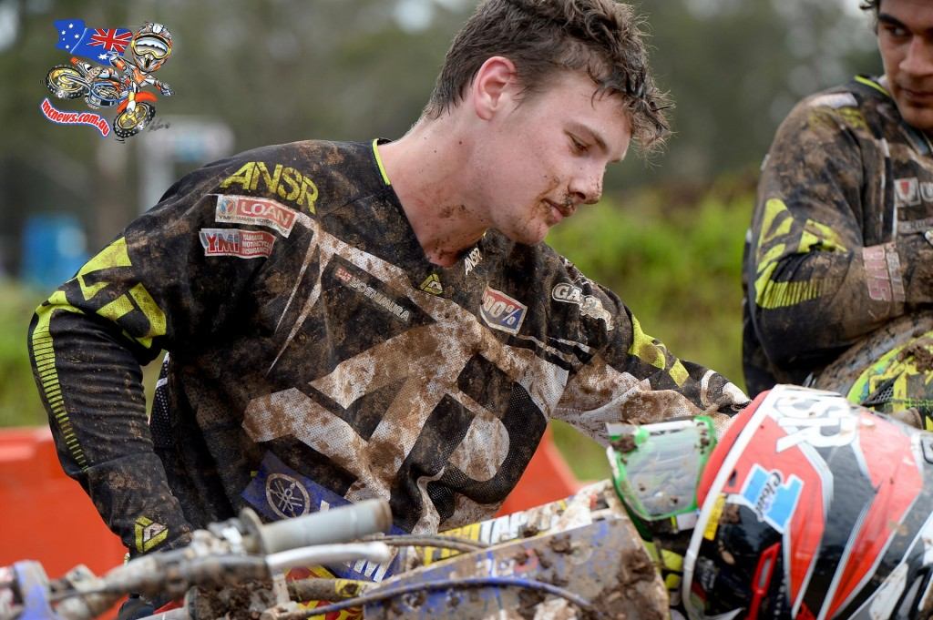 Luke Clout / Yamaha - 1st overall MX Nationals / Round 2 / MX2 Australian Motocross Championships Appin NSW Sunday 12 April 2015