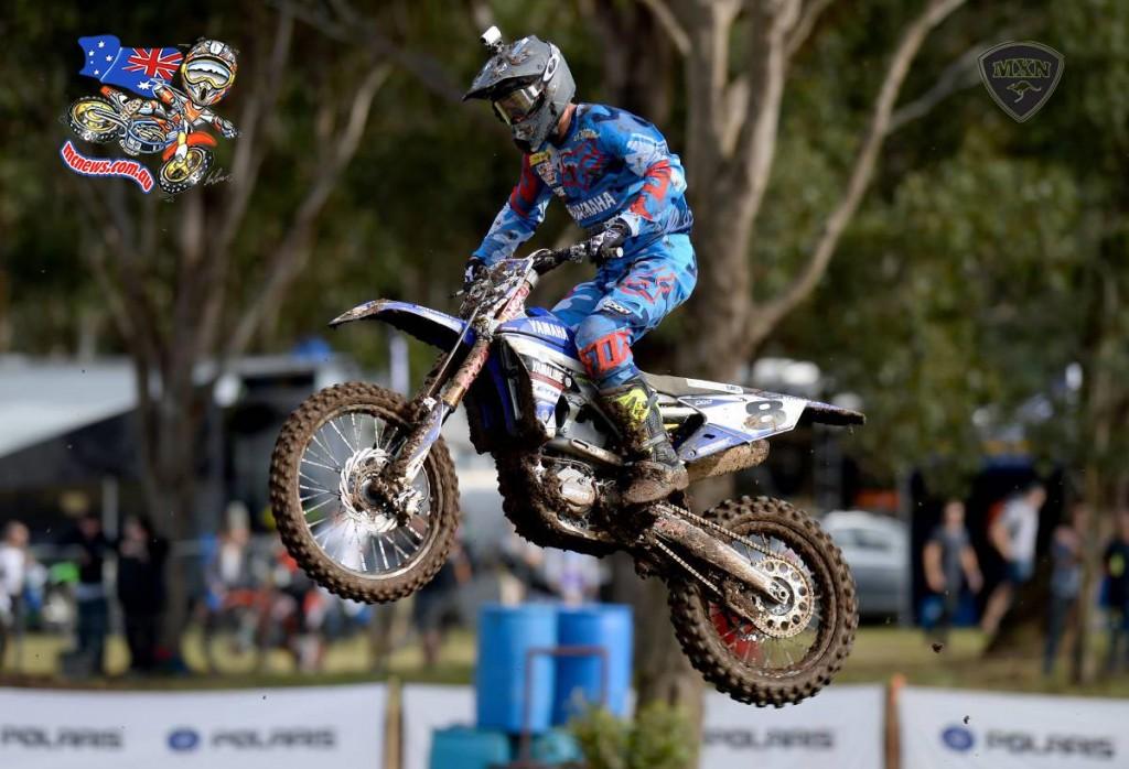 CDR Yamaha's Kade Mosig takes top spot at Appin MX Nationals