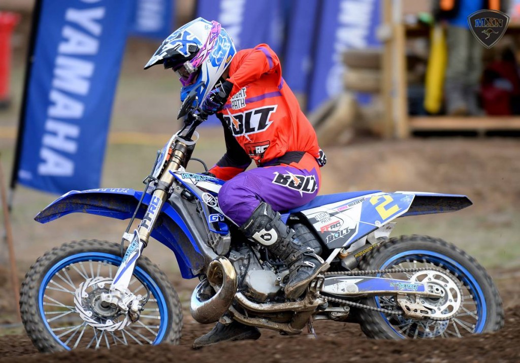 In the Yamaha Australian Women's Motocross Championship it was the Victorian Emma Milesevic who took the round win on a count back from defending national champion Maddy Brown.