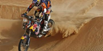 Marc Coma took out the Abu Dhabi Desert Challenge
