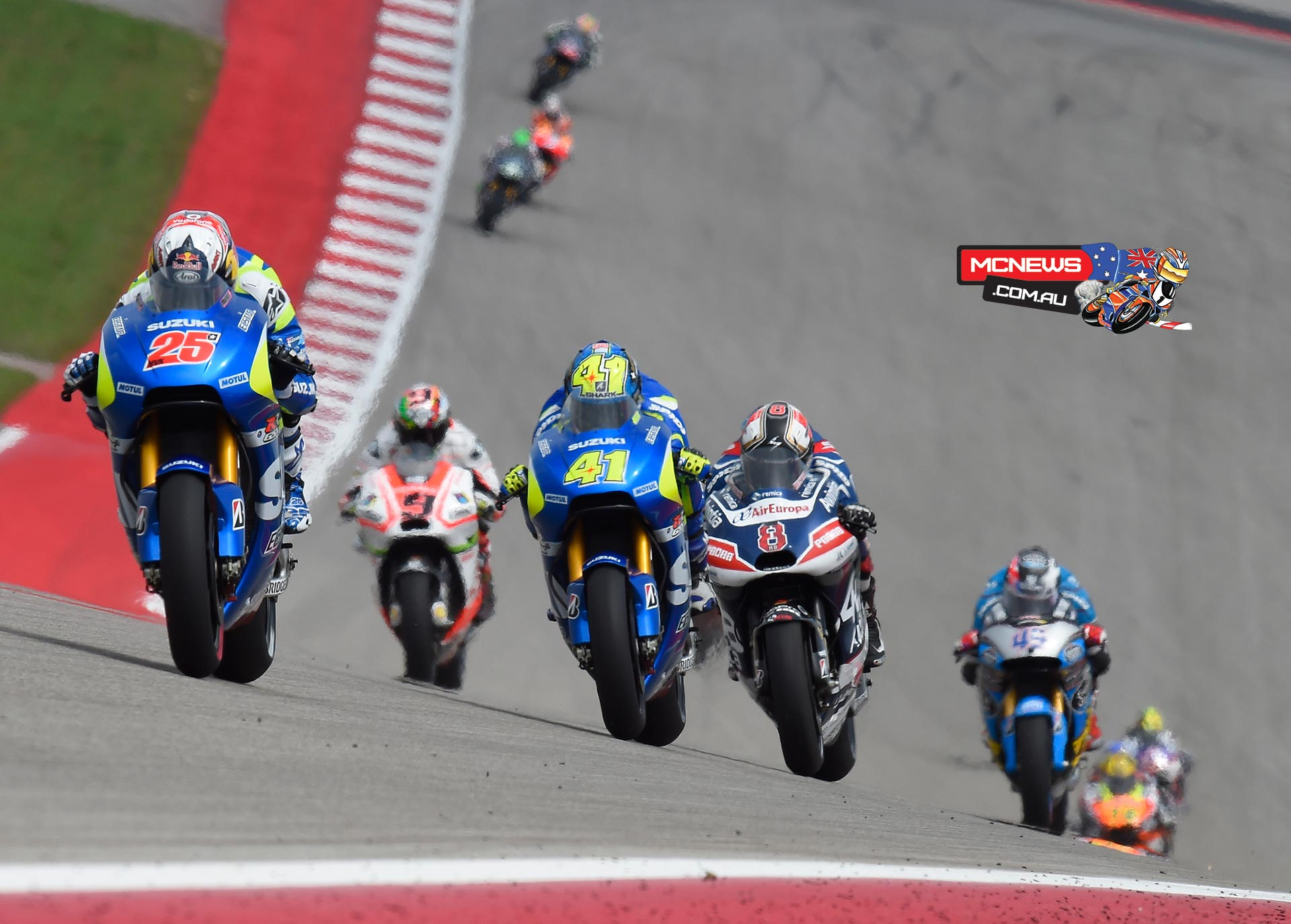 MotoGP Race Action COTA