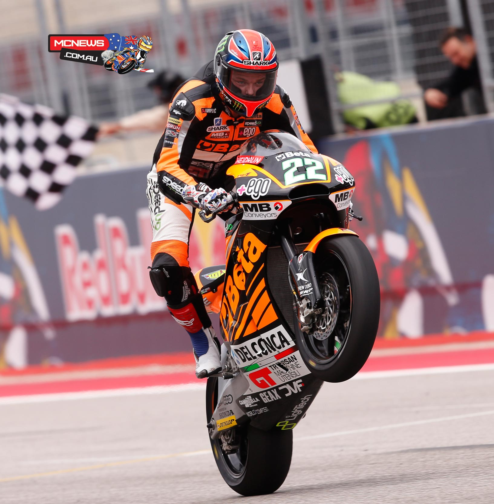 Speed Up Racing's Sam Lowes claimed his first ever Moto2 victory at the Red Bull Grand Prix of The Americas.