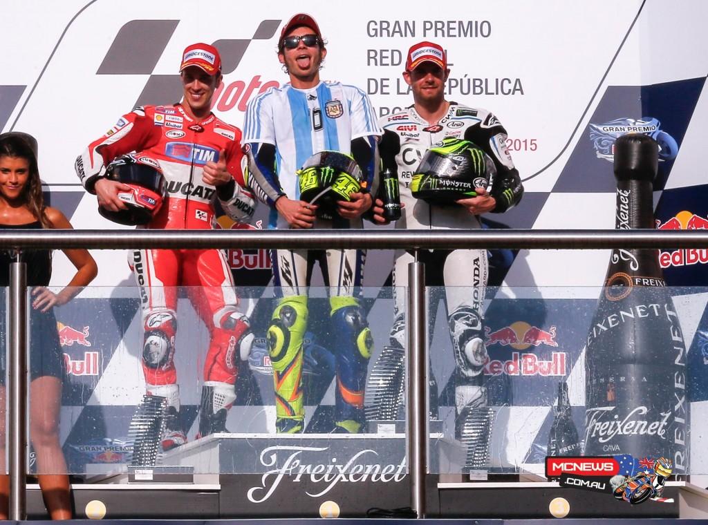 MotoGP Podium Argentina 2015