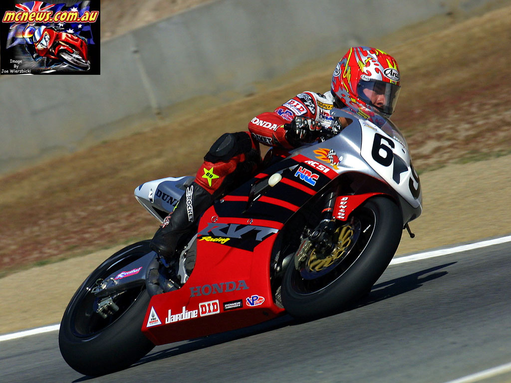 Nicky Hayden 2002 in AMA Superbike
