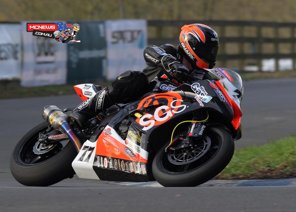 "Ryan Farquhar: ""With the weather being what it was over the course of the two days, it proved to be a tough weekend for everyone but it was a worthwhile meeting for me and I've come away pleased with the results and with a good idea where I need to improve the bikes. Prior to Scarborough, I'd only got about 12-15 laps on the big bike at Kirkistown and with it being wet there too, I had no chance to get the bike set up so came into Scarborough a bit blind. I spoke to Nick Morgan and Richard Adams from Maxton and their input allowed me to get a base setting from where I could at least perform.""   ""To be honest, I was surprised to be doing the lap times I was doing in Saturday's dry races and to push Guy and have boys behind me who'd been testing in Spain was very pleasing. The gearing wasn't right on the Twin for all the tight hairpins but I got a solid third and was pleased with the top end speed so with a few more things to try I think we'll be there or thereabouts. Unfortunately, the weather on Sunday was really cold and wet and with so much work to do and so many important meetings coming up, I didn't feel it was the worth the risk to go out in what were pretty awful conditions.""   ""I was pleased to get the two wins on Kevin Pearson's bike but it was that cold on Sunday, my hands went numb after three laps and I couldn't feel the handlebars. When it's like that, it's so easy to make a mistake and for other riders to do the same so I opted out of the remaining races to head home and start preparing all the bikes for the Tandragee. No one can help the weather and like I say, it was a productive meeting so I'll be looking to move things forward with the bikes and be that bit closer to where I want to be next time out."""