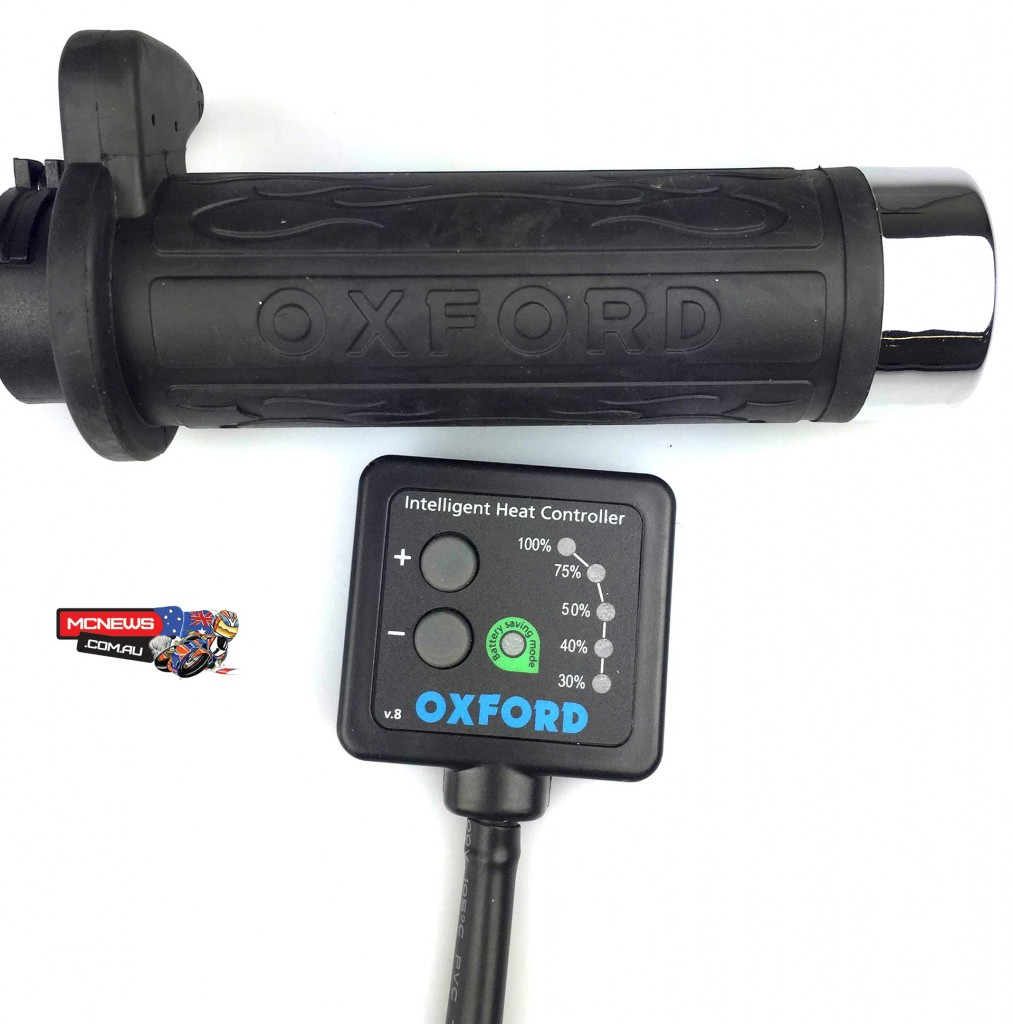 Improved heated handgrips from Oxford