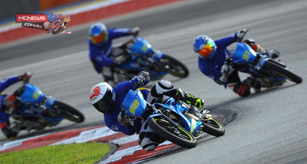 Patis Chooprathet led the way on Day Two for the Suzuki Asian Challenge pre-season test at Sepang