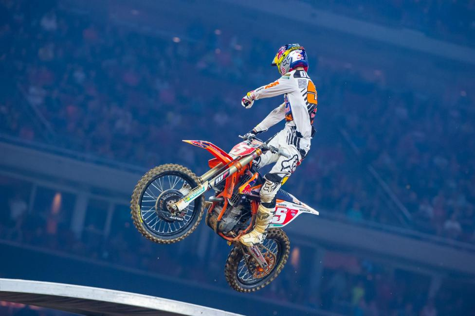 Ryan Dungey clinched his second 450SX title at Houston