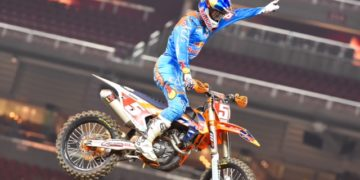 Dungey never looked back after taking over the lead -Photo credit: Simon Cudby
