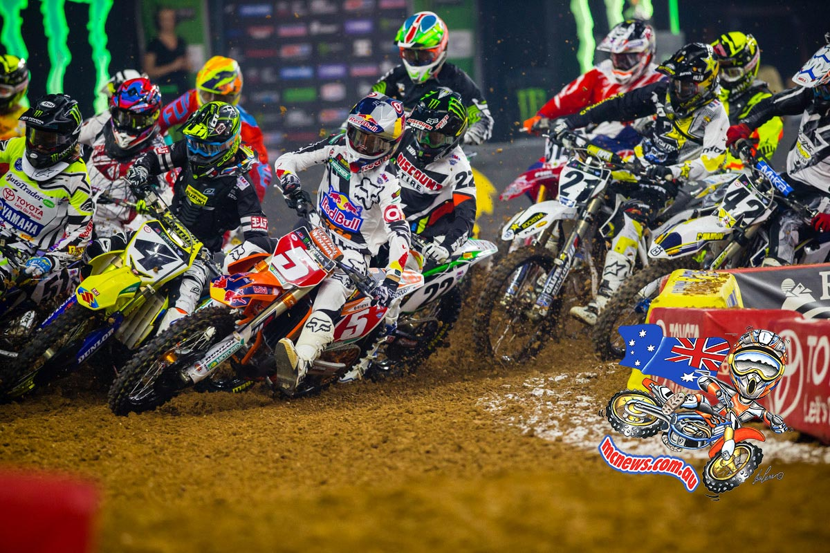 AMA Supercross 2015 Houston