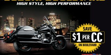 Suzuki Offers $1 Per cc On Selected Boulevard Models