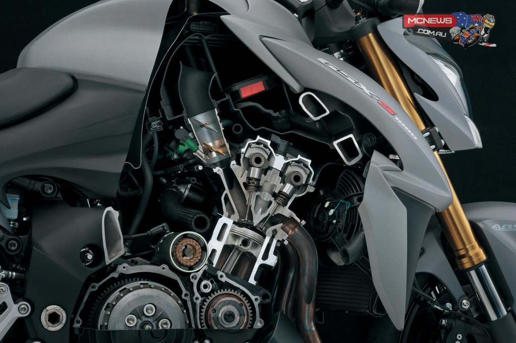 Suzuki GSX-S1000 - The Engine