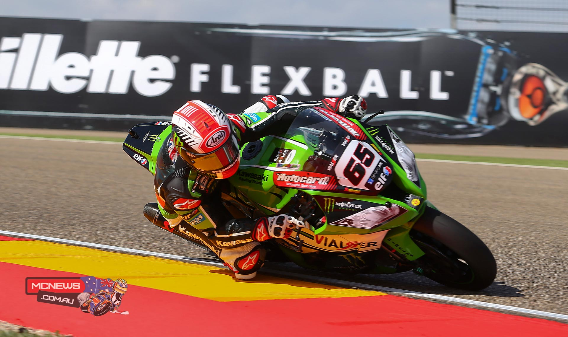 "Jonathan Rea #65 - Kawasaki Racing Team - 1st - ""This is the first event that we have to all use the new electronics so we had a few things to sort out. We have made a good step and surely we will try something more in the third free practice session. We are looking quite good and I think that if we have a good feeling in the Tissot-Superpole then for sure I will push for the best placement on the grid. It would be nice to get three pole positions in a row but our focus has to be the two races, which I still expect to be really close."""