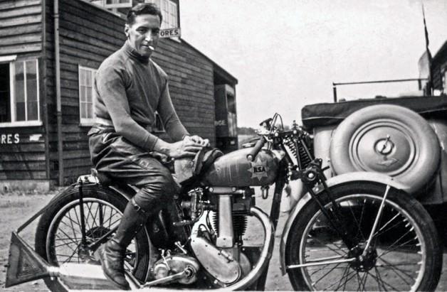 Wal Handley in 1937 (Georges Wander, 2014)