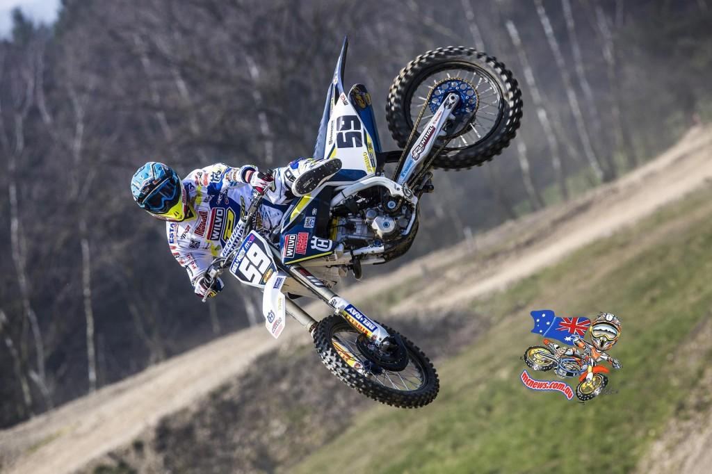 Wilvo Nestaan Husqvarna FC250 Factory Racing Aleksandr Tonkov