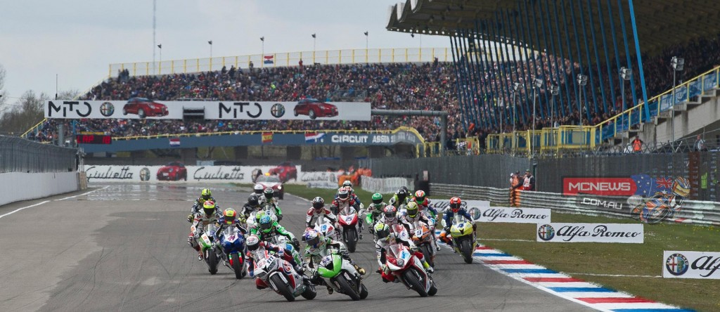 World Supersport Assen 2015 Race Start