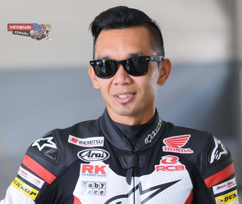 Zamri Baba of Musashi Boon Siew Honda at the ARRC pre season test in Sepang