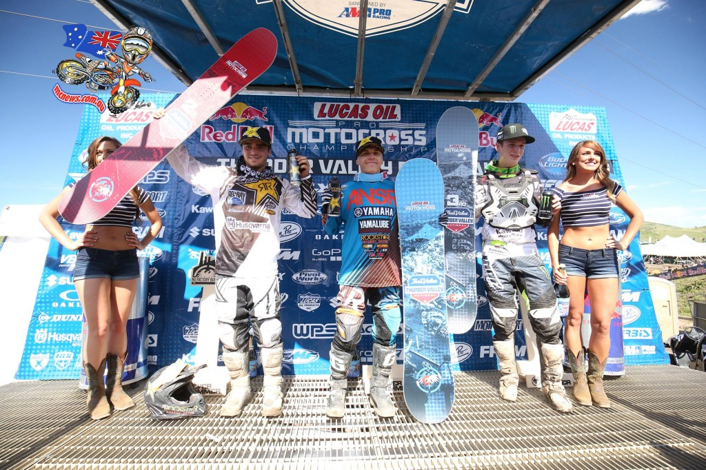 Thunder Valley AMA Pro Motocross 2015 250 Podium