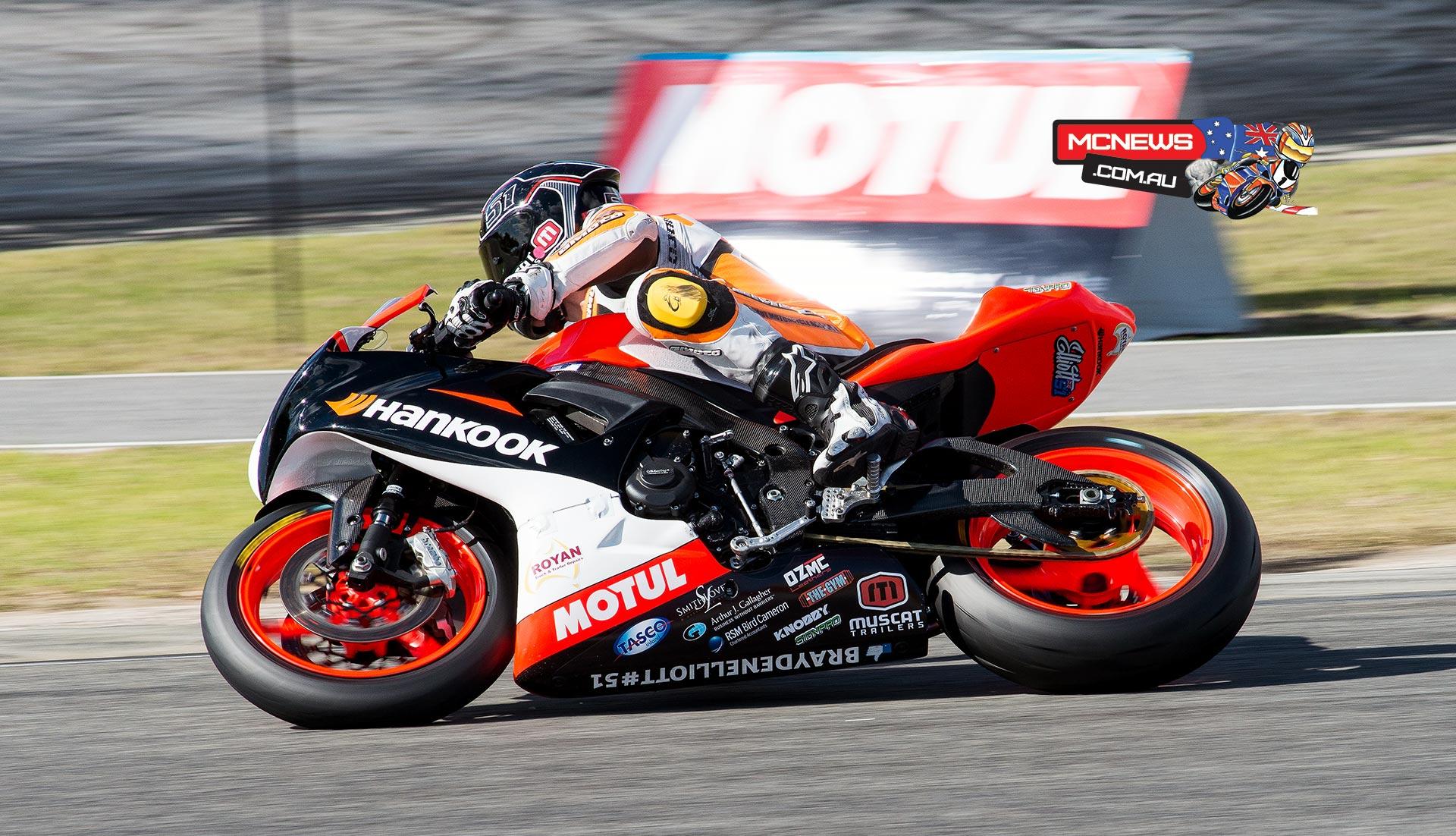 Brayden Elliott took Supersport pole position at Wannero Raceway