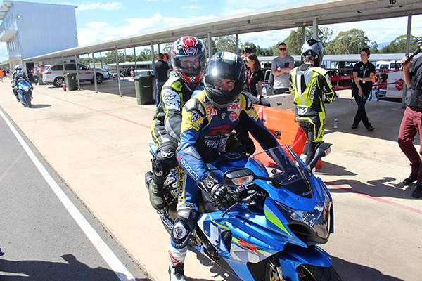 ASBK Pillion Rides up for grabs at Wanneroo Raceway