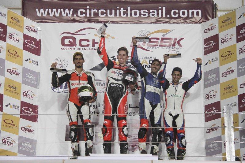 Alex Cudlin Wins 5th Qatar Superbike Championship
