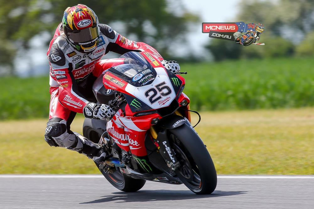 Milwaukee Yamaha's Josh Brookes proved he still had more in reserve for the final day of the MCE Insurance British Superbike Championship official test at Snetterton; obliterating the existing lap record to set the fastest ever lap of the 300 circuit - 1m:46.861s.