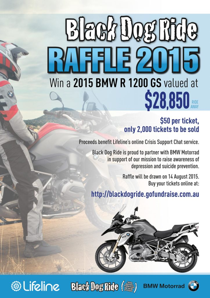 Win A BMW R 1200 GS And Support Lifeline