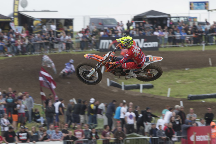 Cairoli scored his second GP win for 2015 in Great Britian