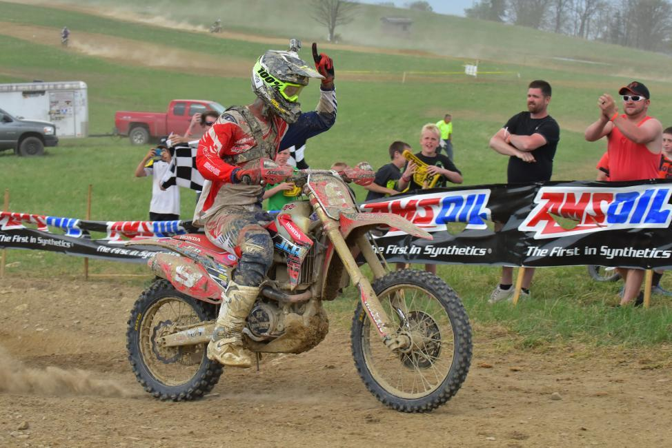 Chris Bach took out the Tomahawk GNCC