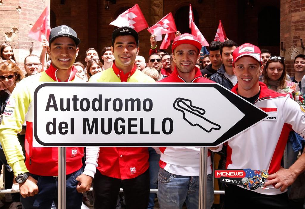 The Ducati quartet is ready for Mugello!