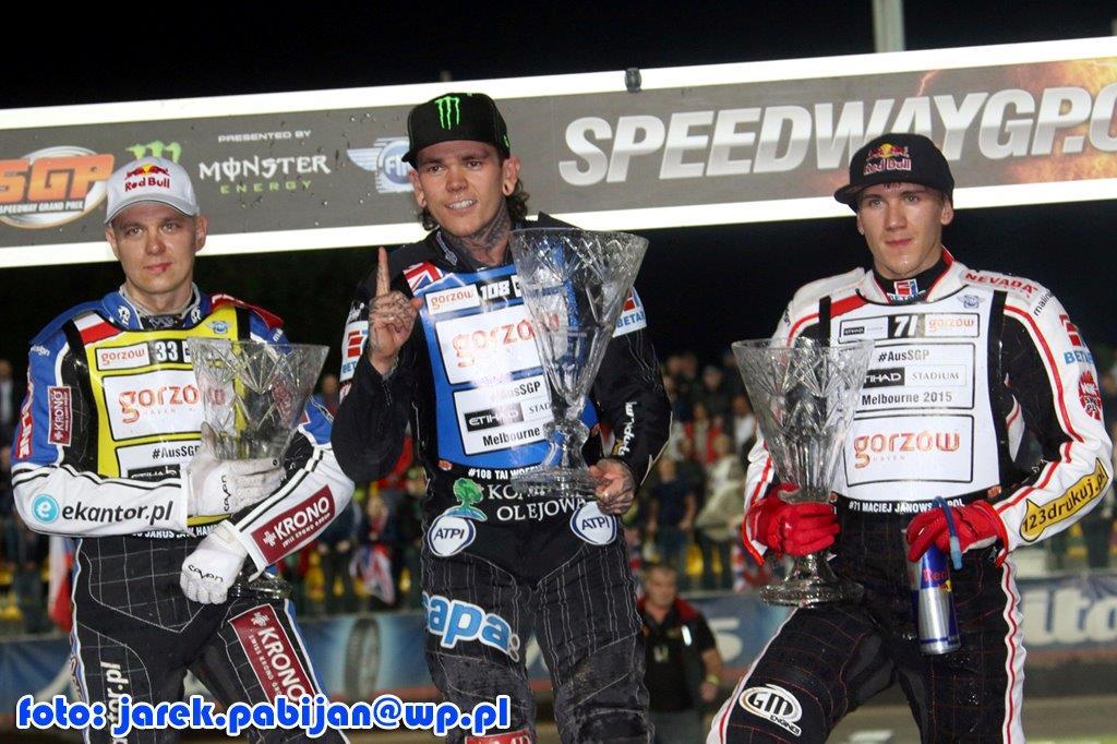 Tai Woffinden takes Czech Speedway GP