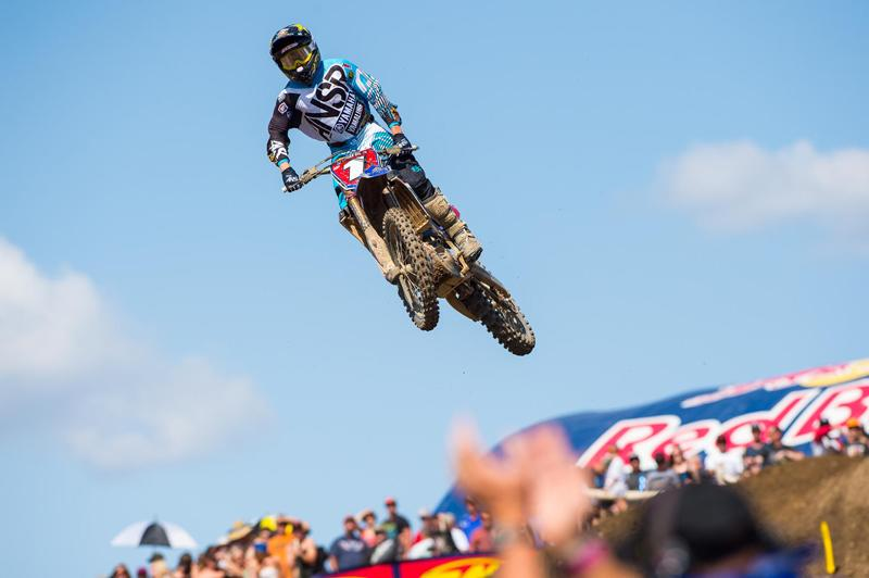 Jeremy Martin got his title defence off to the best possible start