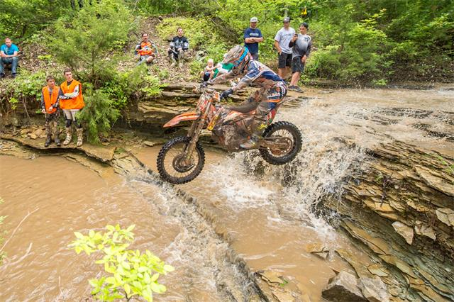 Kailub Russell got his first National Enduro Series round win in Missouri