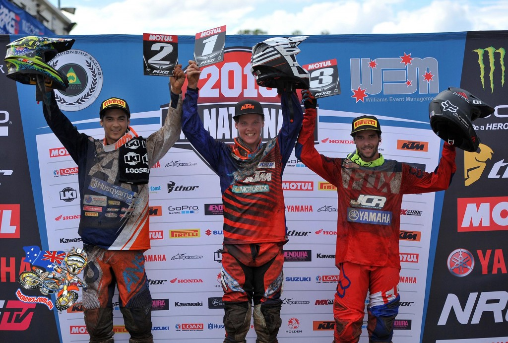 MX2 - MX Nationals 2015 - Round Five - Coolum