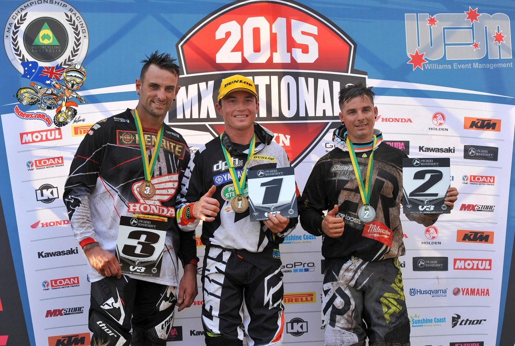 Vets - MX Nationals 2015 - Round Five - Coolum
