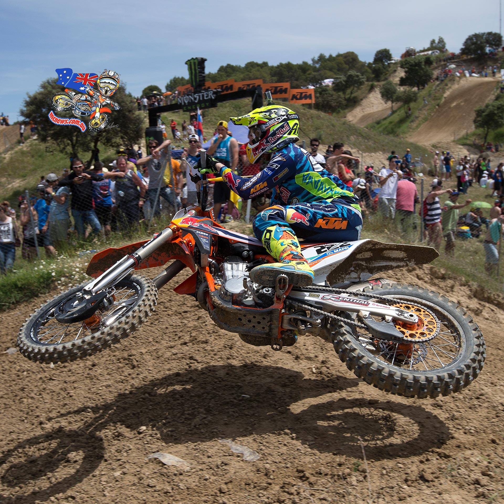 Red Bull KTM Factory Racing's Antonio Cairoli took his first MXGP overall victory of the season