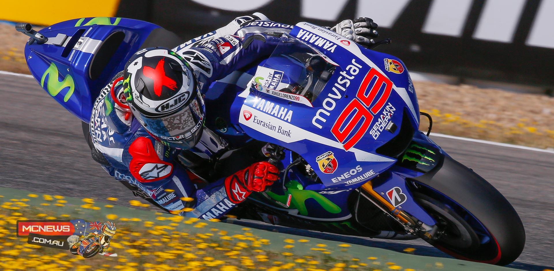Jorge Lorenzo produced the fastest ever lap by a motorcycle around the Circuito de Jerez to take his first pole of the season