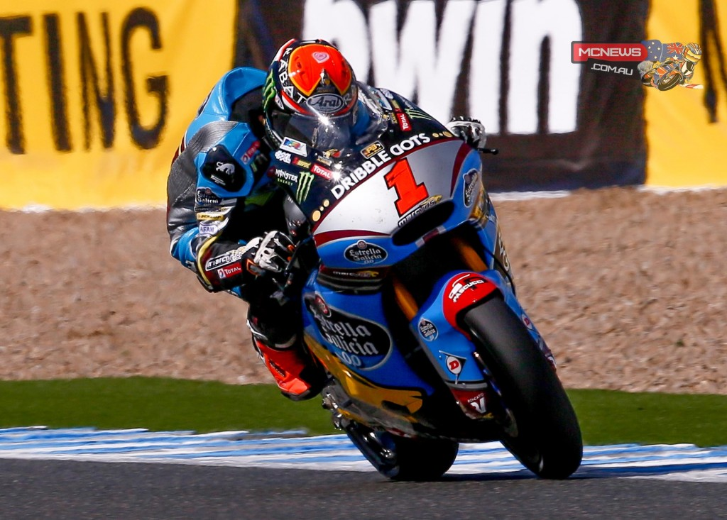 The reigning Moto2 World Champion Tito Rabat took his first pole position of the season ahead of Alex Rins and Jonas Folger in Jerez.