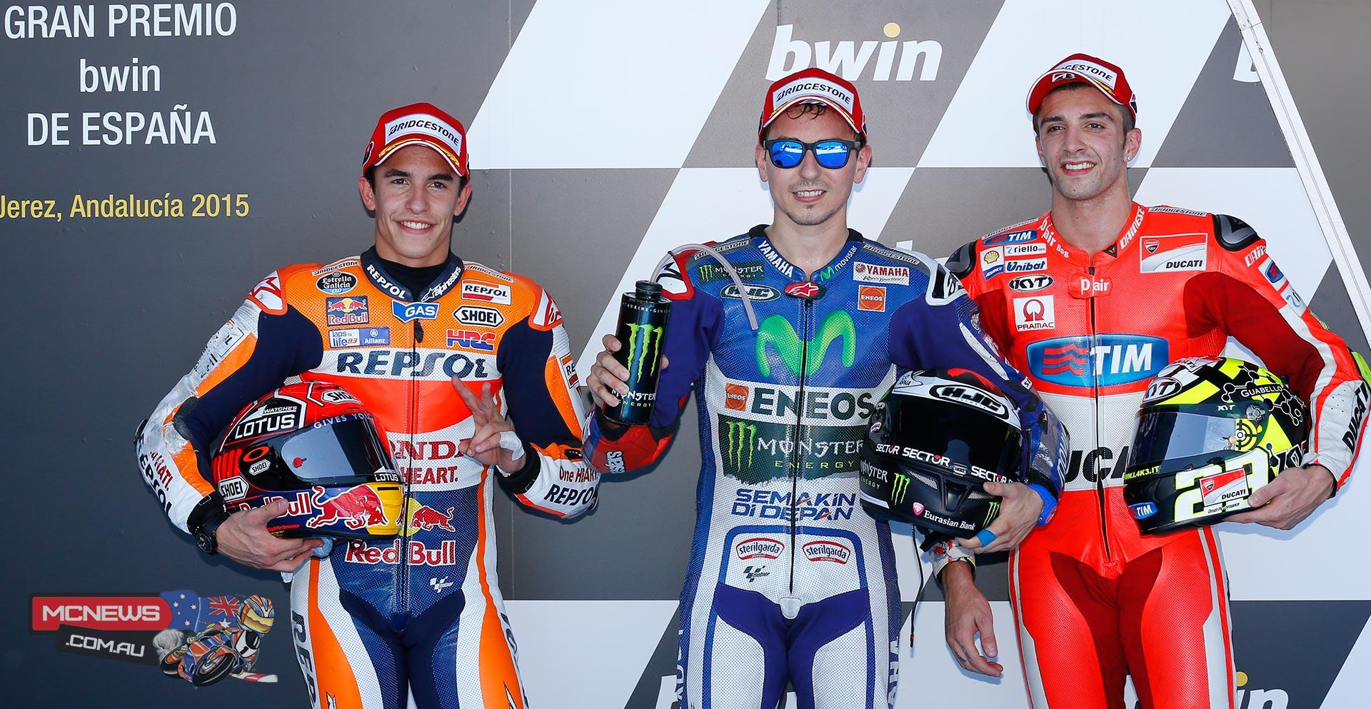 MotoGP Jerez 2015 Qualifying