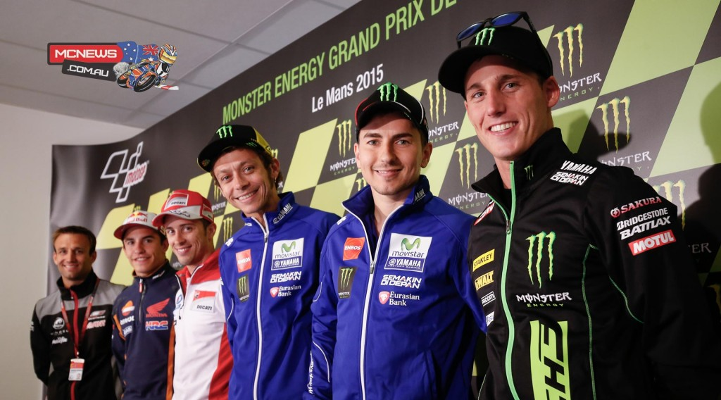 MotoGP riders gather ahead of French MotoGP at Le Mans