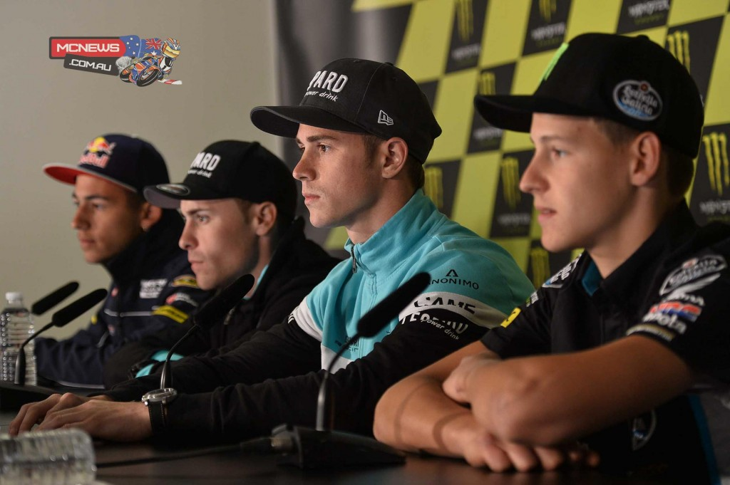 Moto3 during the Press Conference