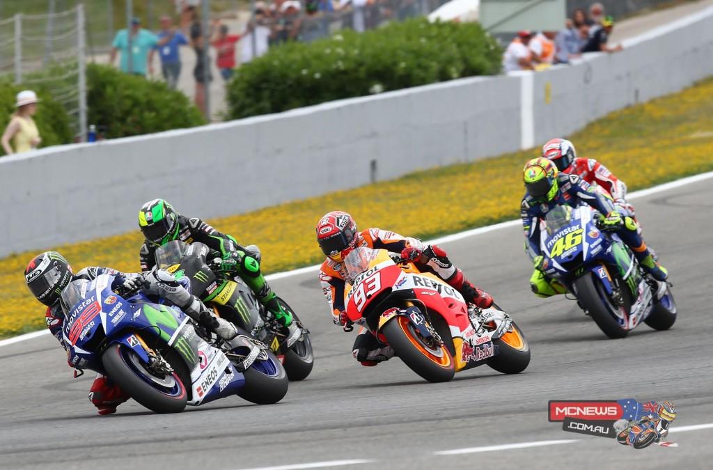 MotoGP 2015 Jerez Start