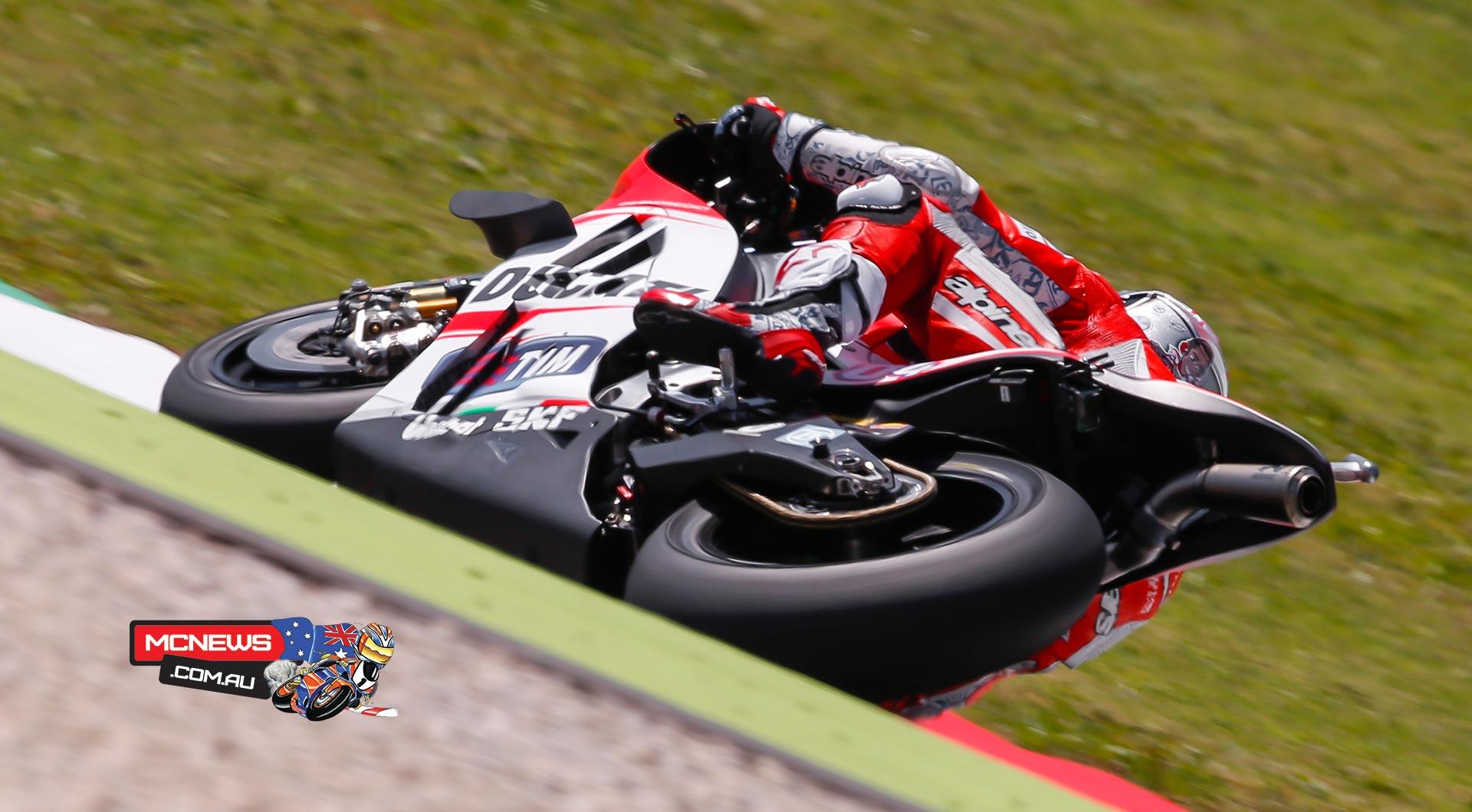 Dovizioso and Ducati dominate opening day at Mugello