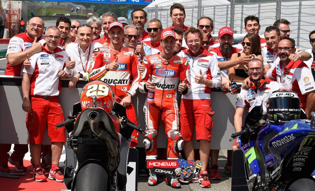 MotoGP Mugello Qualifying 2015 Team Ducati
