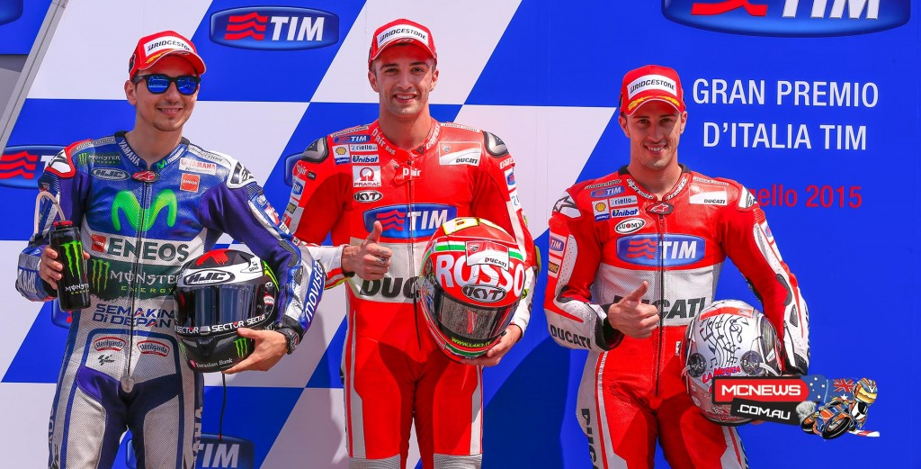 MotoGP Mugello Qualifying 2015