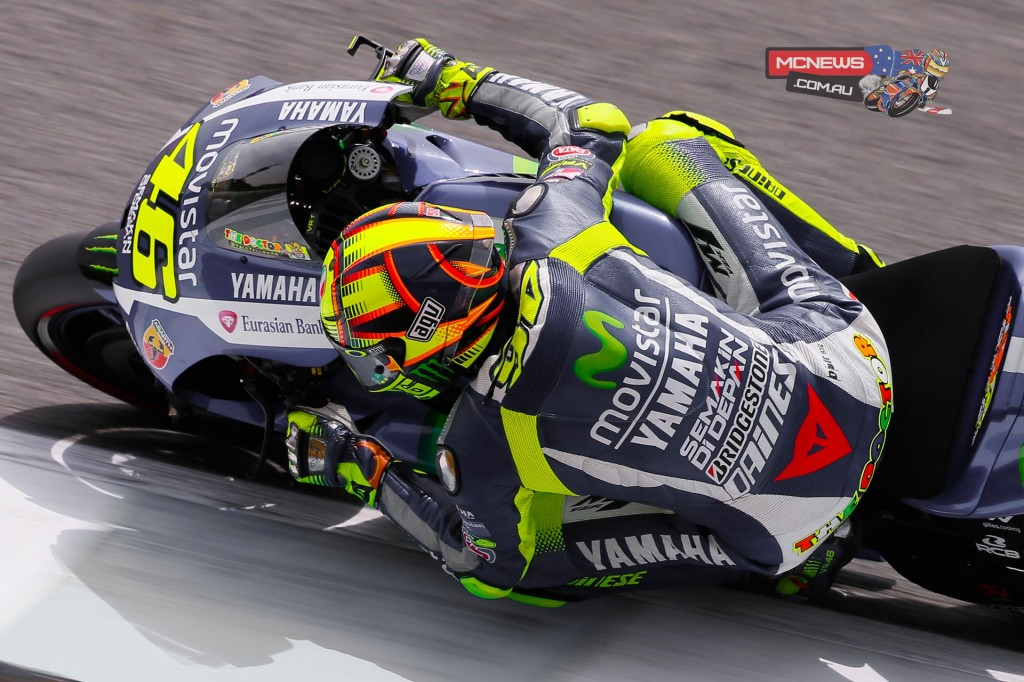Valentino Rossi enjoys a 15-point lead in the 2015 MotoGP World Championship Standings