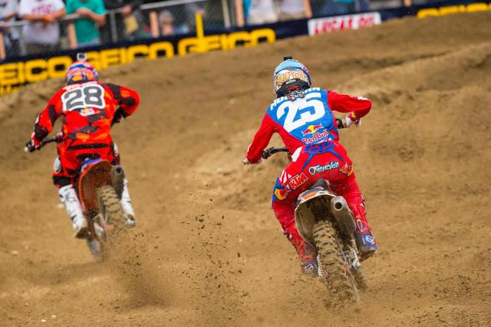 Musquin chases Jessy Nelson in moto 1